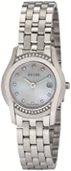 Gucci Womens YA055510 G-Class Mother of Pearl   Diamond Watch