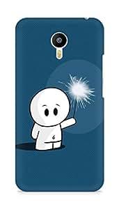 Amez designer printed 3d premium high quality back case cover for Meizu M2 Note (Cute Cartoon 1)