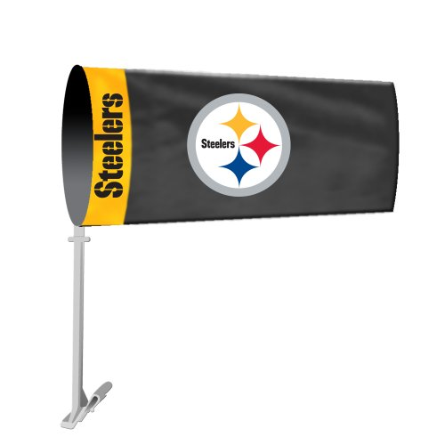 NFL Pittsburgh Steelers Car Sock Flag at SteelerMania