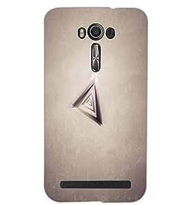 ASUS ZENFONE 2 LASER ZE500KL PRISM Back Cover by PRINTSWAG
