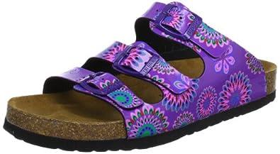 Dr. Brinkmann  700637 Clogs And Mules Women  Purple Violett (flieder/bunt 59) Size: 8 (42 EU)