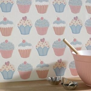 Graham and Brown Contour Wallpaper - Cupcake Past from New A-Brend