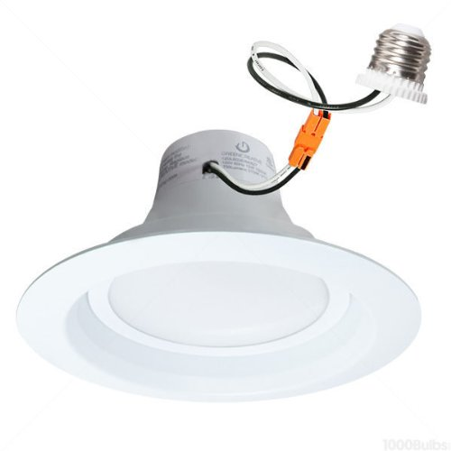 750 Lumens - 75W Equal - 12W Led- Medium Base - Downlight - Fits 6 In. Can Light - Incandescent Color - Green Creative 40695