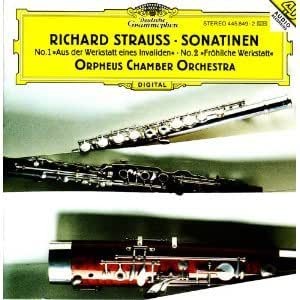 Richard Strauss: Sonatinen Nos. 1 & 2