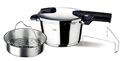 Fissler FSSFIS5852 Vitaquick Pressure Cooker with Perforated Inset from Fissler