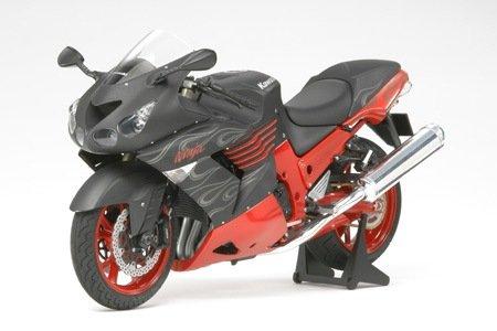 1:12 Tamiya Kawasaki Ninja ZX-14 Black Motorcycle Model Fully Assembled