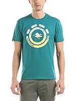 Hot Buttered Camiseta Manga Corta Nahua (Verde Agua)