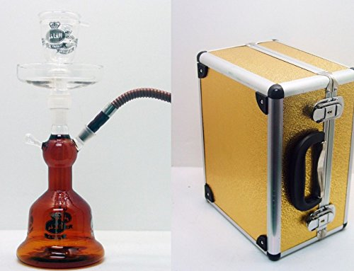 Al-Fakher-Glass-Hookah-14-Amber-Brown