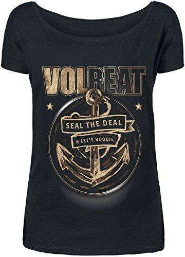 Volbeat Anchor Maglia donna nero M