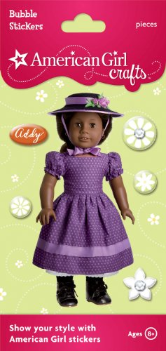 American Girl Crafts Bubble Stickers, Addy Walker