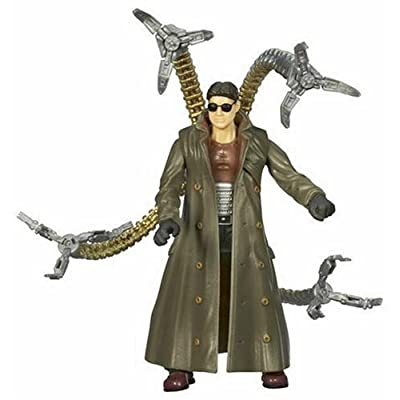 SPIDER-MAN / SPIDERMAN - DOCTOR OCTOPUS - Grabbing Tentacle Attack! - 5 Inch / ca. 13cm Action Figur - incl. Spider-Man Peel-Off Sticker - OVP