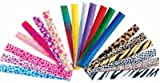 50 assorted slap bracelets- mega pack!