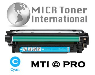 MTI © PRO HP 507A Cyan (CE401A) Compatible Toner Cartridge for HP LaserJet Enterprise 500 Printers: M551N, M551DN, M551XH, MFP M575DN, MFP M575F, MFP M575C Series