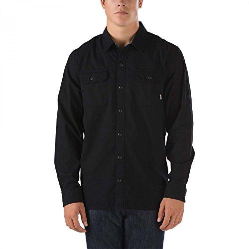 Vans -  Camicia Casual  - Casual - Uomo nero x-large