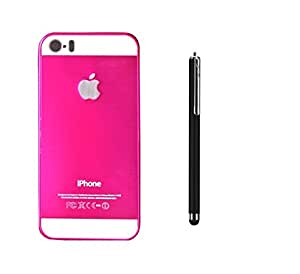 METLY Back cover for Apple Iphone 4 With Stylus Pink