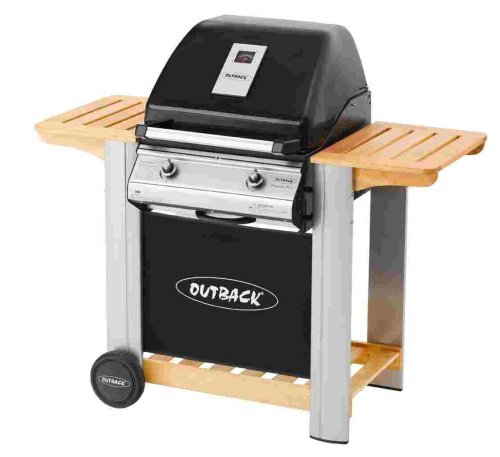 Outback Spectrum 2 Burner Hooded Gas Barbecue including Cover and Propane Regulator