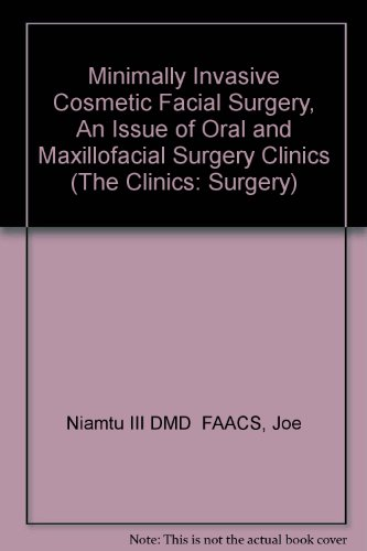 this issue of cosmetic surgery It is my distinct honor to have been asked to guest edit another issue of the oral and maxillofacial surgery clinics of north americain november 2000, i had the honor to edit an issue on cosmetic facial surgery.