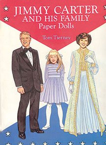 Dollhouse Jimmy Carter & Family Paper Dolls
