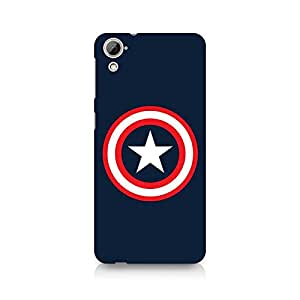 Mobicture Captain America Logo Premium Printed Case For HTC Desire 820