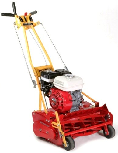 McLane 20-Inch 4.0 HP Honda Gas Powered Self-Propelled 7-Blade Front-Throw Reel Mower With Grass Catcher 20-4G-10
