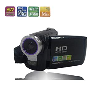 HD Camcorders Vivikai® Sophisticated 16mp 16x Hdmi Digital Camera Video Recorder Camcorder Dv Hd-c5 Black