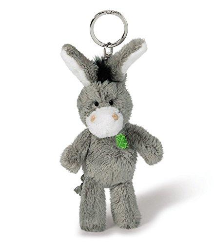 NICI - Llavero con burro, con hoja de trébol, 10 cm (37688)