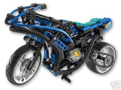 Lego Technik 8430 Motorrad von 2002 als Weihnachtsgeschenk