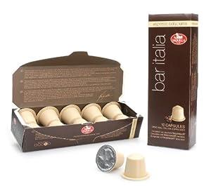 Bar Italia Espresso Bellacrema (Nespresso compatible) capsules
