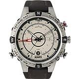 Timex IQ Temperature Compass Mens Watch T2N721
