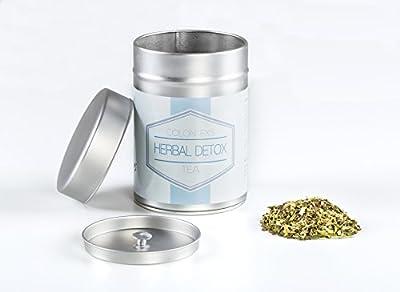 Colon Ex`s Herbal Detox Tea- 100g natürliche Kräuterteemischung zum Entgiften und detoxen. Inkl. Ebook: Schnell und einfach detoxen von Exvital auf Gewürze Shop