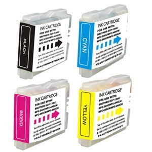 12-Pack Compatible Ink Cartridges for Brother LC51 MFC 230C 240C 350C 440CN 465CN 3360C 5460CN 5860CN 665CW 685CW 845CW 885CW (Brother Mfc 665cw Ink compare prices)