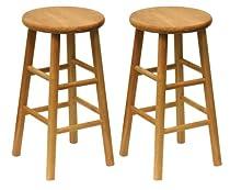 Sensational 2014 Sale Winsome Wood Wood 24 Inch Counter Stools Set Of 2 Frankydiablos Diy Chair Ideas Frankydiabloscom