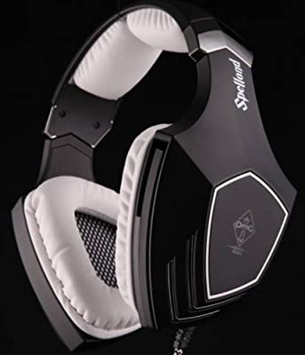 Sades OMG Gaming Stereo Headset Word OMG Game Clan Offical Headphone 7.1 Surround Sound with Hidden Mic Built-in Sound Card USB Plug