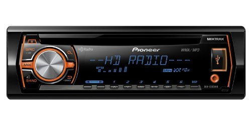 Pioneer DEH-X5500HD In Dash CD/MP3 Receiver with HD Radio, MIXTRAX and Pandora