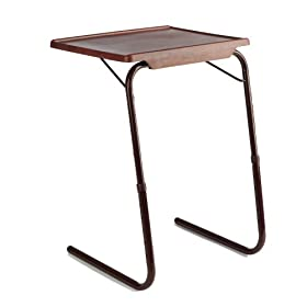 Table-Mate II Woodgrain Folding Table