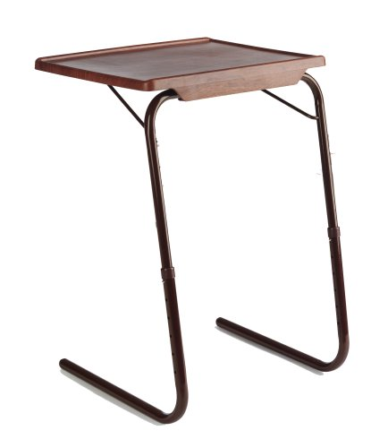 Cherry Side Tables Table Mate Ii Woodgrain Folding Table