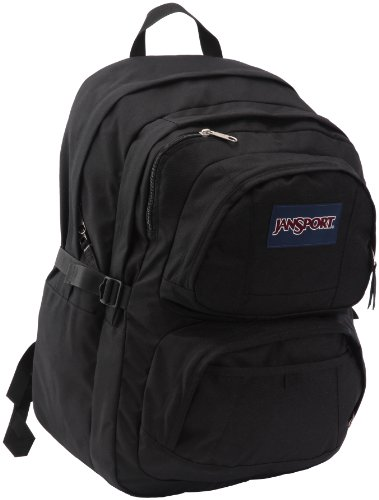 Jansport Merit Rucksack - Black, 47 x 33 x 29cm