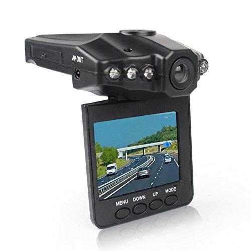 """Forepin® Auto DVR Kamera Blackbox HD DVR Recorder Kfz Videokamera Überwachungskamera mit 2.5"""" Farbig LCD Anzeige"""