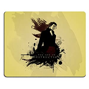 Bleach Aizen Cosplay Mouse Pads Anime Game Manga Comic ACG Customized Made to Order Support Ready 9 7/8 Inch (250mm) X 7 7/8 Inch (200mm) X 1/16 Inch (2mm) High Quality Eco Friendly Cloth with Neoprene Rubber Woocoo Mouse Pad Desktop Mousepad Laptop Mousepads Comfortable Computer Mouse Mat Cute Gaming Mouse_pad