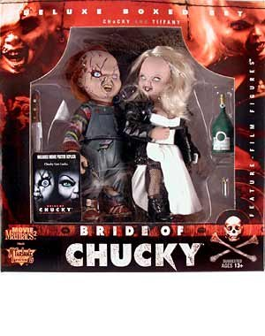 Picture of McFarlane Movie Maniacs Series 2 Bride of Chucky: Chucky and Tiffany Action Figure 2-Pack (B000AXYJ4U) (McFarlane Action Figures)