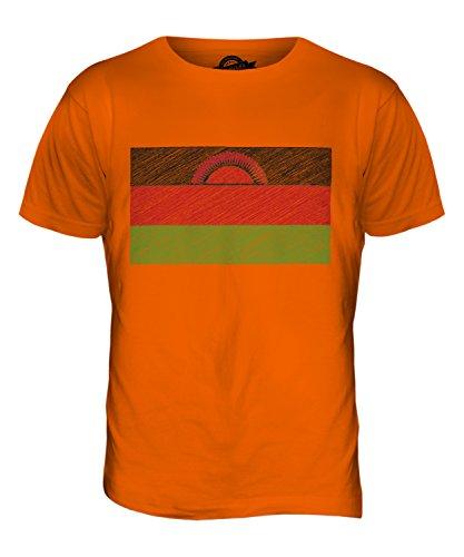 candymix-malawi-kritzelte-flagge-herren-t-shirt-grosse-x-large-farbe-orange