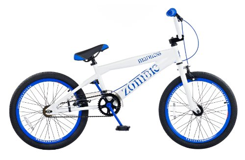 Zombie Madness Boy's Bike - White/Blue, 20 Inch
