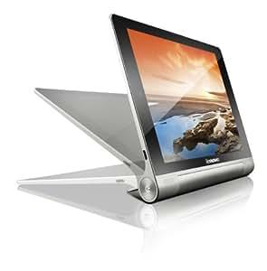 Lenovo Yoga 10-inch Tablet (Silver Grey Metal) - Tablet (Quad Core 1.2GHz, 1GB RAM, 16GB eMMC, WLAN, BT, 2x Camera, Android 4.2)