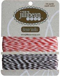 Jillibean Soup 453323 Bean Stalks Twine 20yds-Red-Brown