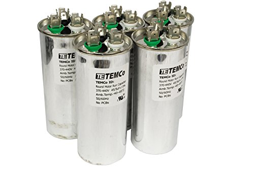 5 Lot Dual Run Capacitor Rc0115 - 45/5 Mfd 370 V 440 V Vac Volt 45/5 Uf Ac Electric Motor Hvac