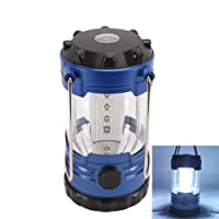 12 LED Portable Camping Camp Lantern Light Lamp with Compass by Crazy Cart