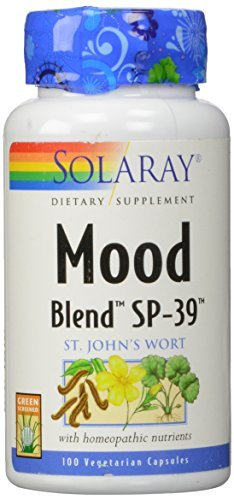 Solaray Mood Blend SP-39 Capsules, 100 Count
