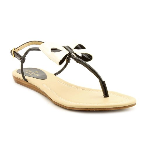 Kate Spade New York Women'S Trendy Thong Sandal,Black,7.5 M Us