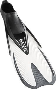Seac Sub Speed Snorkel Fin White Size EUR 36/37 (UK Men's 3.5/4.5; Women's 4/5)