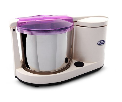 Ultra Dura 110-volt 1.25L Table Top Wet Grinder with Atta Kneader